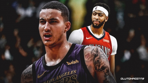 Report: Lakers standing firm on no Kyle Kuzma in trade for Pelicans' Anthony Davis