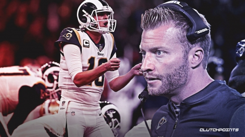 Rams' Sean McVay guarantees Jared Goff will get a contract extension