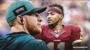 Eagles' Carson Wentz, DeSean Jackson have had great chemistry already
