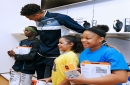 Giannis plays shopping concierge to standout kids from Boys & Girls Clubs