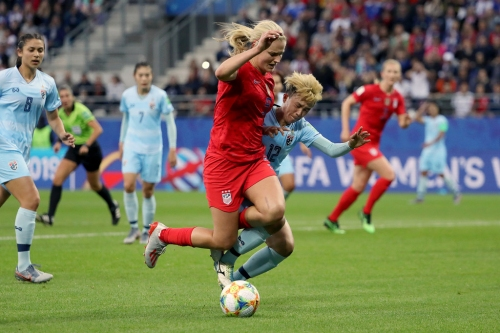 How Lindsey Horan became the USWNT's tour guide as team navigates France for Women's World Cup