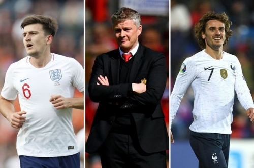 Manchester United transfer news LIVE Antoine Griezmann and Harry Maguire latest as Gareth Bale alternatives 'identified'