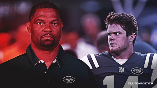 Jets WR's coach Shawn Jefferson impressed with 'everything' about Sam Darnold