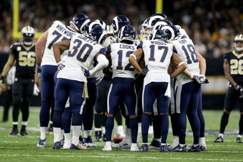 Rams' supporting cast for Goff ranked 3rd in NFL