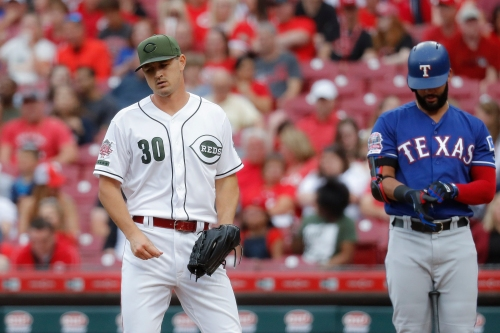 Bats go quiet as Cincinnati Reds lose 7-1 to Texas Rangers at Great American Ball Park
