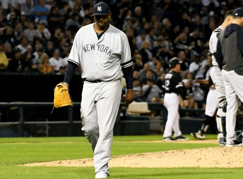 Yankees starting pitching is faltering in a big way, contributing to eighth loss in 11 games