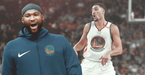 Warriors' DeMarcus Cousins says he loves Klay Thompson 'to death', will 'go to battle with him any day'
