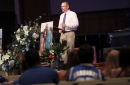 Former Memphis radio host Forrest Goodman remembered for passion, fatherhood at funeral service