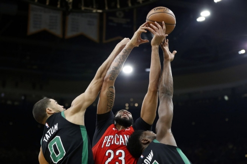 Danny Ainge would not include Jayson Tatum in trade, Anthony Davis is a Laker