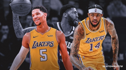 Josh Hart, Brandon Ingram react to being traded by Lakers to Pelicans for Anthony Davis
