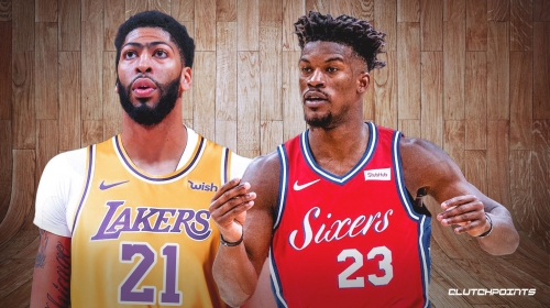 Jimmy Butler 'likes' Anthony Davis trade to Lakers