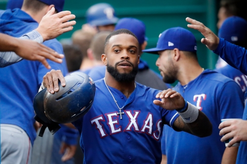 Sunday will be a sentimental Father's Day for Rangers CF Delino DeShields' family