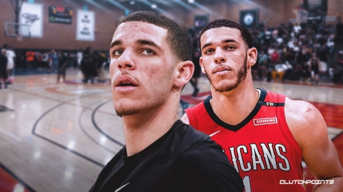 Lonzo Ball shows up at Drew League after getting traded by the Lakers to the Pelicans