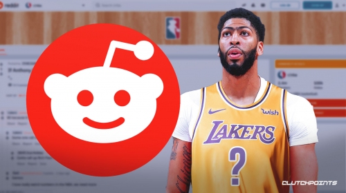 Reddit fan hilariously picks Anthony Davis' jersey number with Lakers