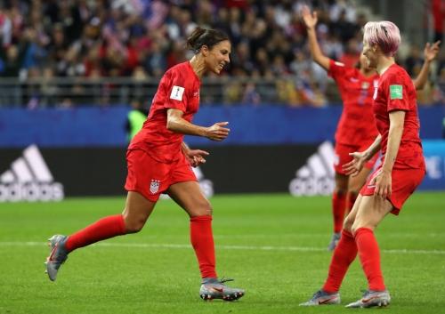 Veteran Carli Lloydstill a 'game-changer' forU.S. national team