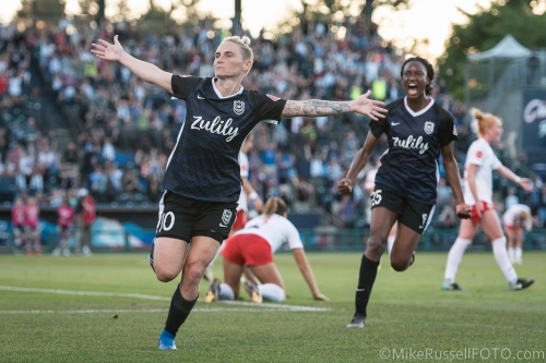 Reign FC trade goals with Washington Spirit for 1-1 draw