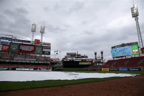 Cincinnati Reds series finale against Texas Rangers delayed
