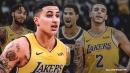 Lakers' Kyle Kuzma pays tribute to Brandon Ingram, Lonzo Ball, Josh Hart after Anthony Davis trade