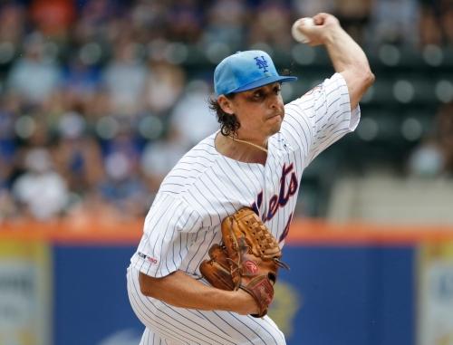 Mets starter Jason Vargas leaves game in fourth inning of loss
