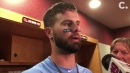 Watch: Jesse Winker on his 4-hit, 5-RBI game in the Cincinnati Reds' win over Rangers