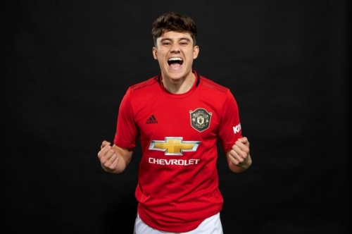 Man Utd star Daniel James and the two Swansea City men he credits for his dramatic rise