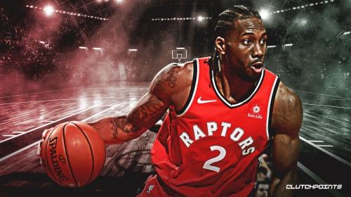 Video: Kawhi Leonard impersonator fools Raptors' fans in Toronto