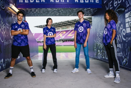 2019 MLS All-Star jerseys and game ball