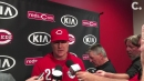 David Bell on pulling Raisel Iglesias in the 9th inning: 'It seemed like the right move'