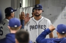 Lucchesi's strong outing, Machado's homer help Padres past Brewers