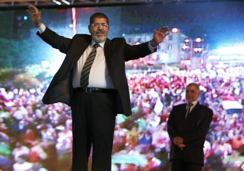 The Latest: Iran extends condolences in Egypt death of Morsi