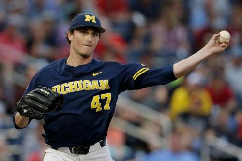 Michigan baseball's Tommy Henry threw College World Series gem by being 'grumpy'