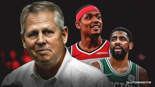 Report: Celtics' Danny Ainge could look at Wizards' Bradley Beal as contingency plan for Kyrie Irving's potential departure