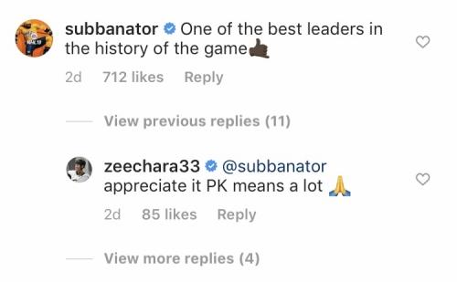 Bruins' Zdeno Chara, Predators' P.K. Subban Have Classy Exchange On Instagram