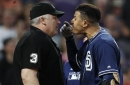 MLB umpires' union angry with Machado's one-game suspension