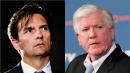 Does Ducks coach Eakins have any dirt on Brian Burke?