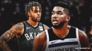 Karl-Anthony Towns really wants Timberwolves to acquire D'Angelo Russell