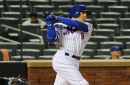 Brandon Nimmo told to avoid baseball activities for a month