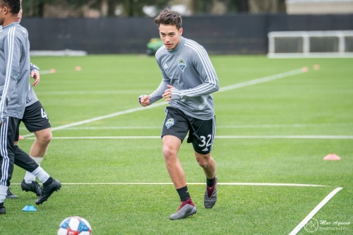 Alec Diaz turns in breakout performance for Sounders U19s in USSDA playoffs
