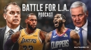 Battle For L.A. Podcast Episode 8 – Anthony Davis trade reaction, it's impact on the Lakers and Clippers, and Kawhi Leonard's future