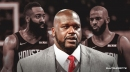 Shaquille O'Neal reacts to reported 'tension' between Rockets' James Harden, Chris Paul