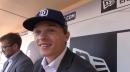Padres third-round draft pick Hudson Head introduced at Petco Park