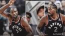 Video: Raptors' Serge Ibaka asks Kawhi Leonard what junk food he'll eat after NBA Championship