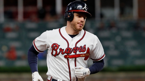 Braves' bats silenced by Mets' deGrom in 10-2 loss