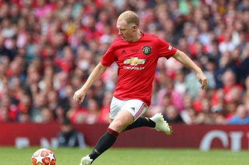 Paul Scholes fined after admitting FA misconduct charge