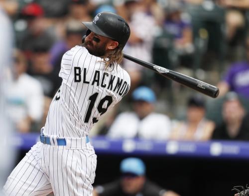 "Rockies' Nolan Arenado calls Charlie Blackmon's hot streak ""unbelievable"""