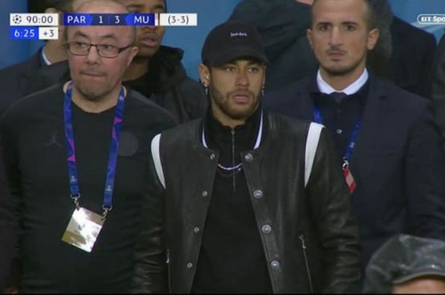 UEFA reject PSG's Neymar appeal after rant following Manchester United defeat