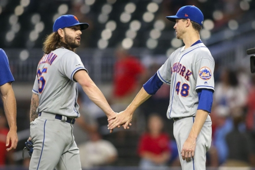 deGrom dominates, Mets' offense finally gives him plenty of run support