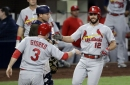Carpenter scratched (stomach illness), so Cardinals turn hard right vs. Padres