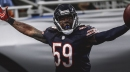 """Bears' Danny Trevathan is happy in Chicago, but says """"I take nothing for granted"""""""