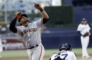 Giants' symphony of barrels hits all the right notes, Longoria leads the charge